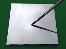 """First Surface Mirror 3"""" Square 3x3 aluminized 1/8"""" glass FS FSM front"""