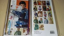 BNIB-Boye-Learn to Knit-Complete Kit Containing 18 Pattern Book and Tools