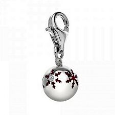 """Hot Diamonds """"Snowflake Bauble"""" Charm, 925  Sterling Silver - DT294"""