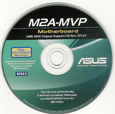 ASUS M2A-MVP VISTA Motherboard Drivers Installation Disk M983
