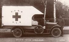 RAOB GLE WW1  Motor Ambulance Military Transport Medical  RP pc J Harwood Derby
