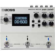 BOSS DD-500 Digital Delay Stompbox Effects pedal DD500 Free Shipping