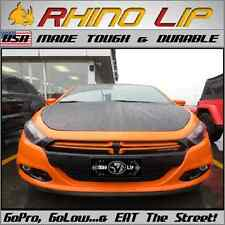 Dodge Dart Universal Fit Front Bumper Rubber Chin Lip Splitter Spoiler Edge Trim