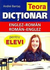 Teora English-Romanian and Romanian-English Dictionary for Students, Andrei Bant