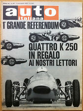 Auto Italiana - 1965 n° 40 - Matra Sports Luxe - Oldsmobile - meccanica corse