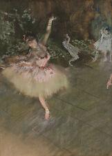 The Star Edgar Degas Ballett Ballerina Tänzerin Bühne Tütü Figur B A3 01431