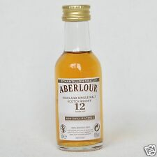 Aberlour 12 Years Old Scotch Whisky 48% 50ml Mini Rare Label !!! 2NFF3000