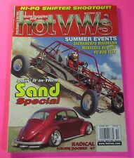 DUNE BUGGIES AND HOT VWs MAGAZINE  OCT/2010....DOIN' IT IN THE SAND SPECIAL