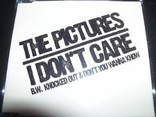 The Pictures (Davey Lane) I Don't Care 3 Track CD Single – Like New