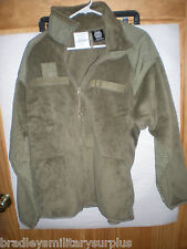 EUC Tan Gen III L3 ECWCS Cold Weather Fleece Jacket-Size Lare/Regular