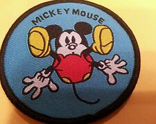 "Mickey Mouse falling  iron on patch mint never used 2.5"" x 2.5"""