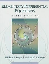 Elementary Differential Equations by Boyce (ISBN-13: 9780470039403)