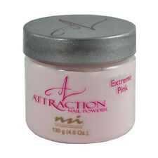 nsi Attraction Nail Acrylic Powder Extreme Pink 4.6 oz 130g