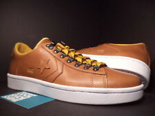 CONVERSE PRO LEATHER UND UNDFTD UNDEFEATED OX GOLDEN YELLOW BROWN 137373C DS 7.5