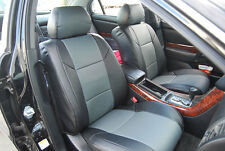 ACURA TL 1999-2003 IGGEE S.LEATHER CUSTOM FIT SEAT COVER 13 COLORS AVAILABLE