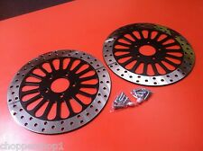 "11.8"" (300 MM) FRONT ROTORS HARLEY FLHR -2 FRONTS 2008'-2013' APPLICATION"