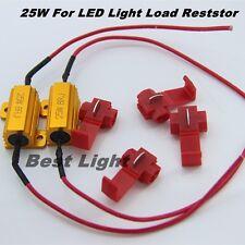 2Pcs Load Resistor 25W 8ohm Fix LED Bulb Hyper Flash Turn Signal Blinker