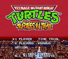 Teenage Mutant Ninja Turtles IV 4 Super Nintendo Game
