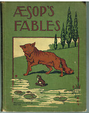 Aesop's Fables by  Early printing of 1900,s Rare Antique Books! $
