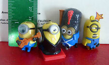 Special Lot of 4 PVC Toys ! MInions from Despicable Me