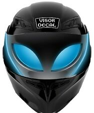V50 Alien VISOR TINT DECAL Helmet UNIVERSAL Fits All Sport Bike Helmets