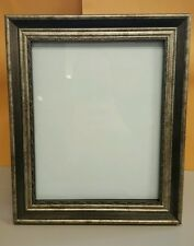 "8"" x 10"" Silver Gold Tone Wood Antique Look Picture Frame 8x10 Beautiful Classic"