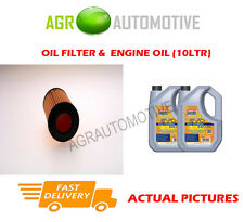 DIESEL OIL FILTER + LL 5W30 ENGINE OIL FOR HONDA ACCORD 2.2 140BHP 2004-08