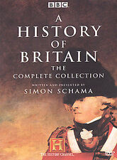 A History of Britain: The Complete Collection Brand New 5 DVD set