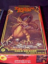 Grenadier GOLD DRAGON 2510 AD&D Dungeons Dragons Miniature Ral Partha Metal