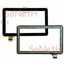 "Touch screen Majestic TAB 312 3G 10,1"" Vetro Digitizer Nero"