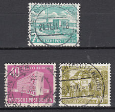 Berlin 1954 Mi. Nr. 121-123 TOP Vollstempel Gestempelt LUXUS!!! (12966)