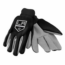 Los Angeles Kings Gloves Sports Logo Utility Work Garden NEW Colored Palm
