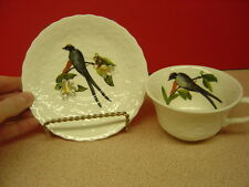 Alfred Meakin China BIRDS OF AMERICA #168 Fork-Tailed Flycatcher Cup & Saucer