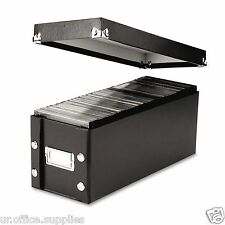 Snap-N-Store 165 CD Storage Box Case Organizer Rack Office Home Car with Lid DVD