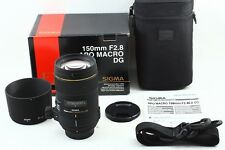 (3475) Excellent SIGMA APO MACRO 150mm F2.8 EX DG HSM for Nikon from Japan