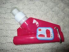 BN Pink Collapsible Drinking Water Bottle (Fitness Sports Picnic's Walking etc)
