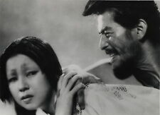"PHOTO CINEMA VINTAGE 1950 : KUROSAWA ""RASHOMON"" Toshiro Mifune & Machiko Kyo"