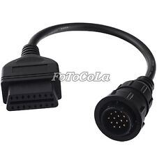 14 Pin to 16 OBD II Adapter cable F Benz Car Cable Diagnostic Scanner Volkswagen