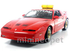 GREENLIGHT 12858 1987 PONTIAC FIREBIRD TRANS AM GTA DAYTONA 500 PACE CAR 1/18