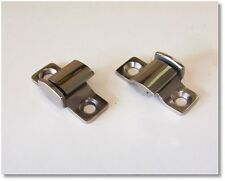 1932 - 1936 FORD, CHEVROLET, PLYMOUTH STAINLESS HOOD HINGE BRACKETS