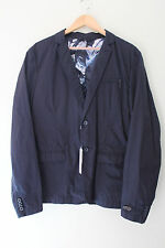 NWT DIESEL Designer Men's J-Marcus Jacket Handsome Midnight Blue XL $328