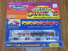 Micro Machines Sun Color Changers #8 NIP: Galoob 1988 - Jets/Airplanes