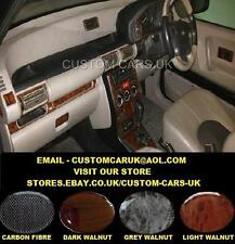 Land Rover Freelander 1 - 1997-2004 L314 - Walnut Wood Or Carbon Fibre Dash Kit