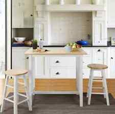 Dining Table Set for 2 Small Spaces Pub Bistro 3 Piece Stools White Kitchen