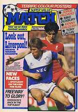 LIVERPOOL / EVERTON / JORGE VADANO ARGENTINA Match July 26 1986