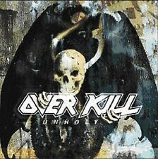 Overkill Unholy 2004 HTF Import 2 CDs Wrecking Everything Live / Killbox 13
