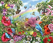 Sunsout Puzzle 1000 Piece Jigsaw Puzzles Bird Puzzles Butterfly Puzzle Colorful