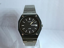 Vintage Tissot F1 Quartz Men's Steel Watch on Steel Bracelet