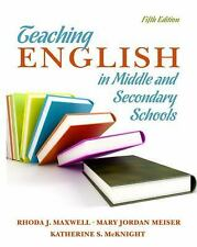 Teaching English in Middle and Secondary Schools (5th Edition), McKnight, Kather