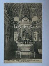 interno Madonna della Guardia Rocchetta Ligure vecchia cartolina